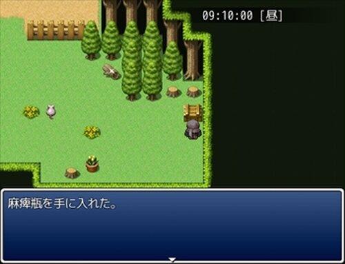 黒き森の庭 Game Screen Shot4