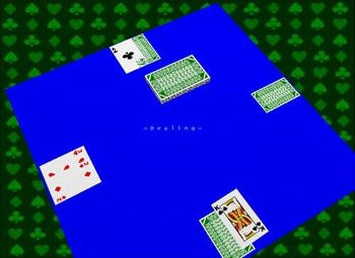 ブラックジャック Game Screen Shot5