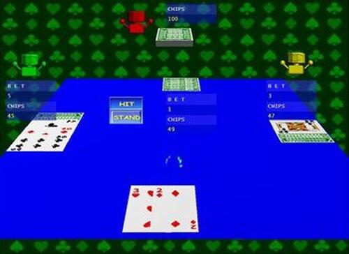 ブラックジャック Game Screen Shots