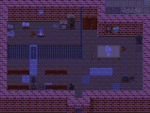 冷たい雨と洋館の物語 Game Screen Shot1