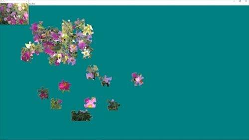 『プレゼントパズル』 プロポーズ・告白に贈る花 バージョン Game Screen Shot2