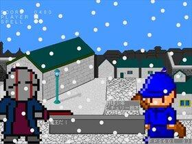 (魔王の)サンタのシューティング Game Screen Shot3