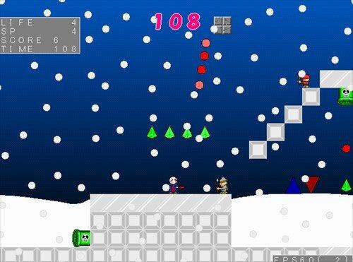(魔王の)サンタのお仕事 Game Screen Shot1