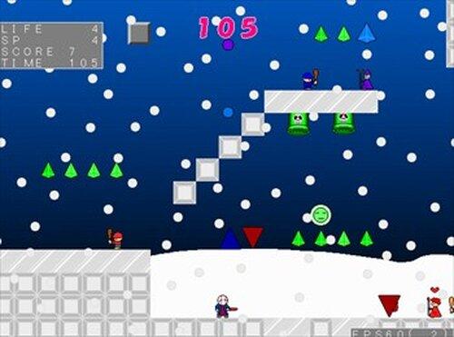 (魔王の)サンタのお仕事 Game Screen Shot3