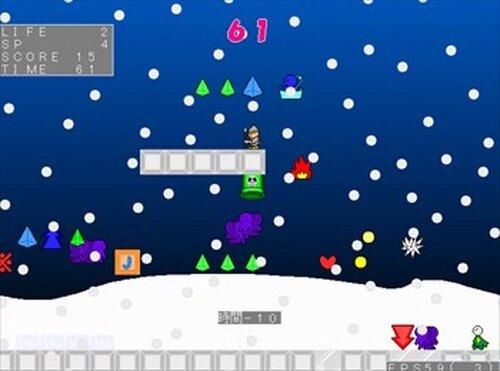 (魔王の)サンタのお仕事 Game Screen Shot4
