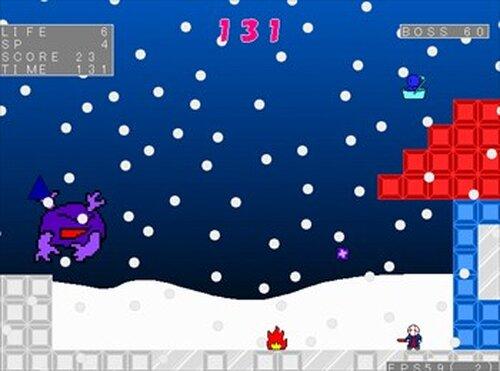 (魔王の)サンタのお仕事 Game Screen Shot5