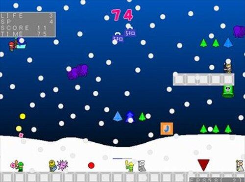 (魔王の)サンタのお仕事 Game Screen Shots