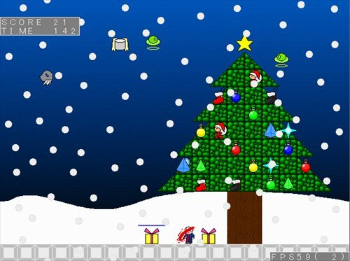 クリスマスサンタ Game Screen Shot1