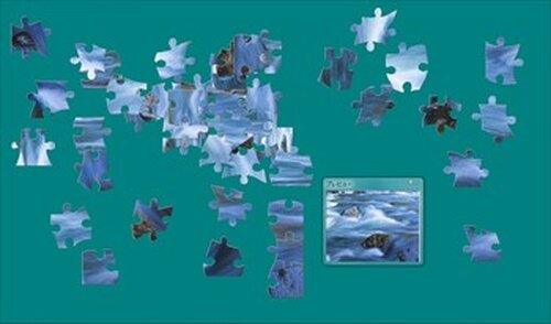 『PHOTO PUZZLE』~厳選自然素材 Game Screen Shot2