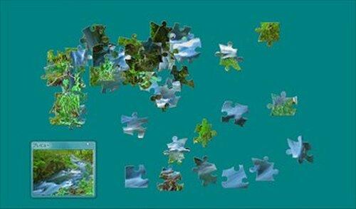 『PHOTO PUZZLE』~厳選自然素材 Game Screen Shot3