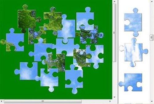 『PHOTO PUZZLE』~厳選自然素材 Game Screen Shots