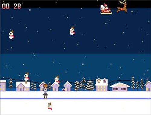 霊務~クリスマスバージョン~ Game Screen Shot3