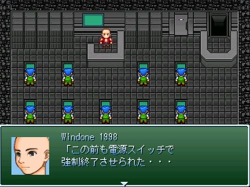 パソコンの中~Ture Of PC~ Game Screen Shot1