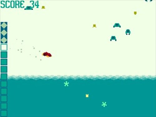 タイダルホッパー Game Screen Shot2