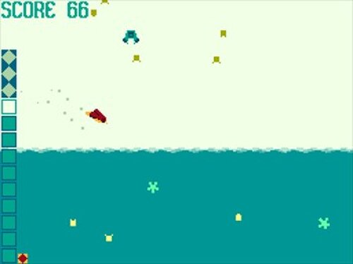 タイダルホッパー Game Screen Shots