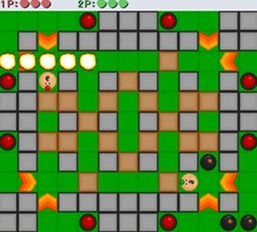 爆弾男 ネットワーク対戦版 Game Screen Shots