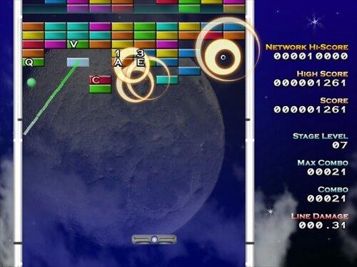 タイプDEぶろっく! Game Screen Shot1