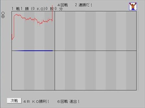 グラフでボクシング Game Screen Shots