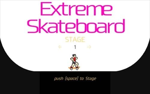 EXAMスケートボード Game Screen Shot2