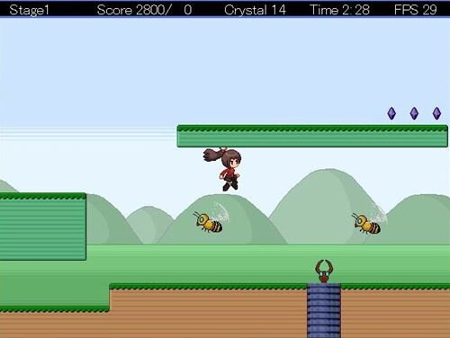 Jumping! Game Screen Shot1