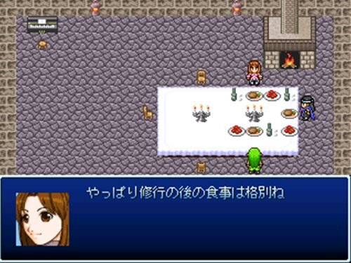 Save the WORLD 外伝 Secret crystal Game Screen Shot1