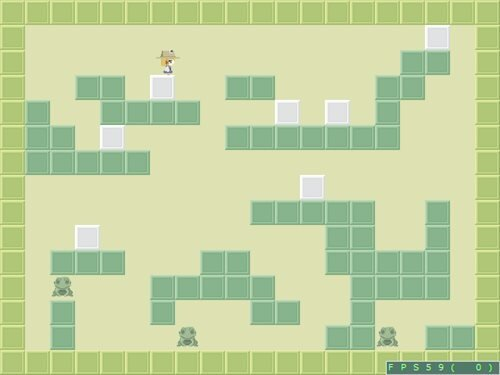 ケロケロケロ Game Screen Shot1