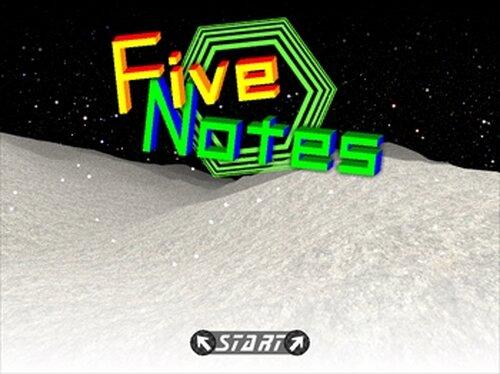 FiveNotes Game Screen Shot2