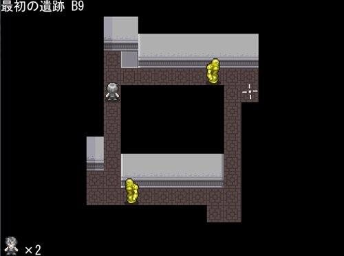 発狂ゴーレムの遺跡 Game Screen Shot