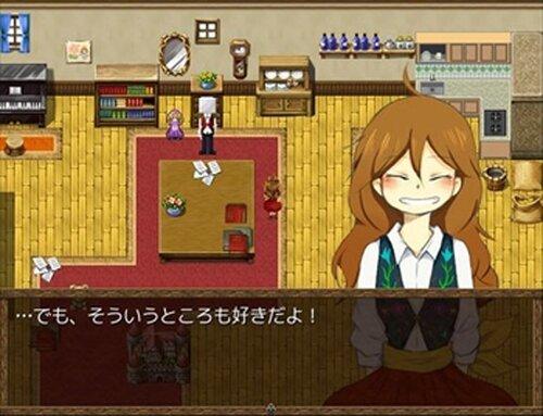 白はこの魔法使い Game Screen Shot3