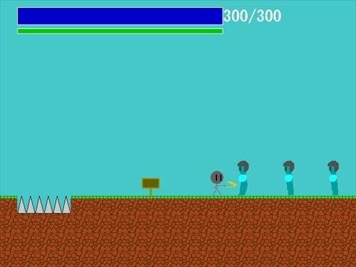 棒太郎の冒険 Game Screen Shot1