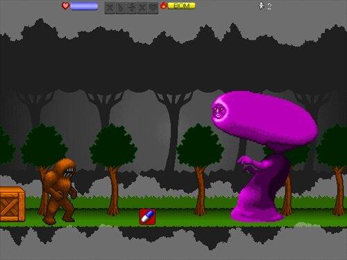 モンスターリップ Game Screen Shot1