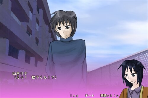 桜の樹の下で、二人は Game Screen Shot1