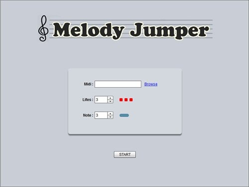 MelodyJumper Game Screen Shot1