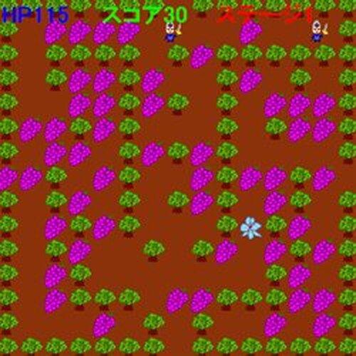 ぶどう回収ゲーム Game Screen Shots