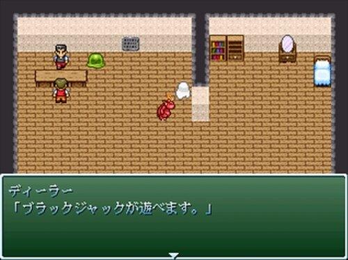 ブラックジャック THEツクール Game Screen Shot3