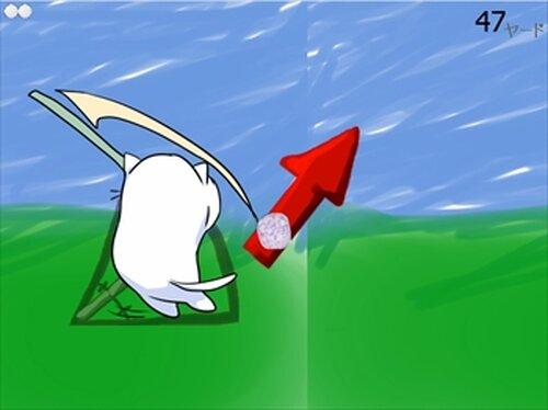 ネコバノゴルフ Game Screen Shots