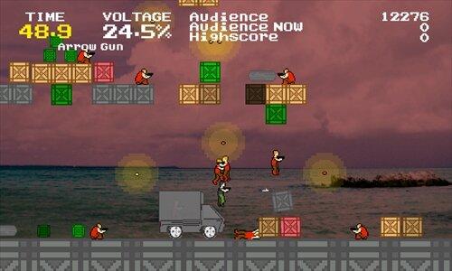 100秒アクションヒーロー(100sec Action Hero) Game Screen Shot