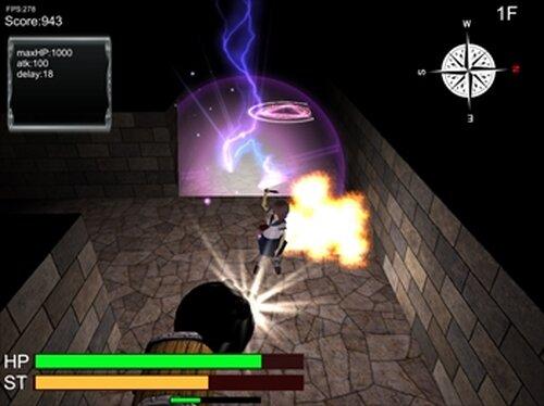 普通のJKがダンジョンもぐってみた Game Screen Shots