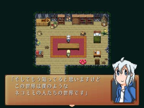 ネコミミ異界の反逆者 Game Screen Shot1