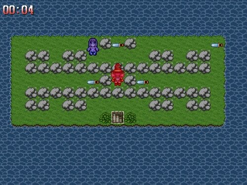 つかぼんのオモチャ島 Game Screen Shot1