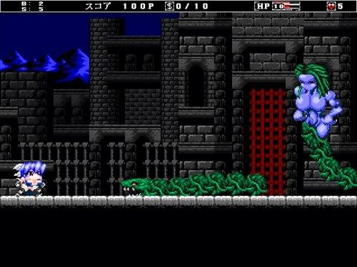 VampunishX(ヴァンパニッシュX) Game Screen Shot1