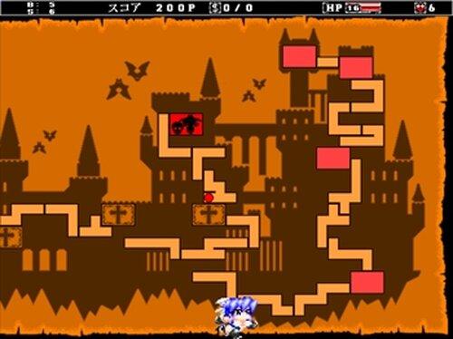 VampunishX(ヴァンパニッシュX) Game Screen Shot3