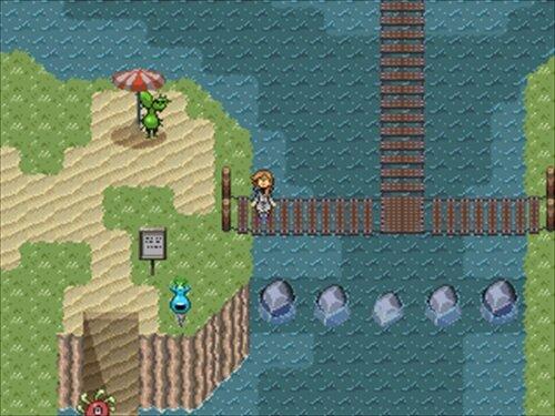 ポゴネとたこ Game Screen Shot1