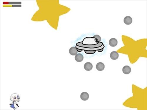 【弾幕アクション】消しゴムちゃんと鉛筆ちゃん Game Screen Shots