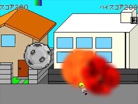 伸縮性の高い石頭少女いしあたまーるちゃん Game Screen Shot3