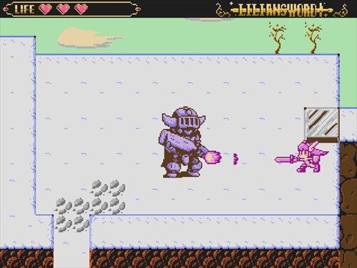 リリアンソード氷の魔王 Game Screen Shot1