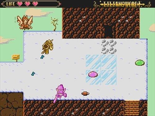 リリアンソード氷の魔王 Game Screen Shots