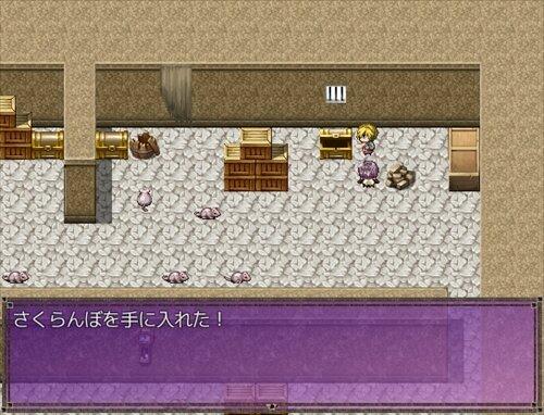 クエスト:さくらんぼの塔 Game Screen Shot1