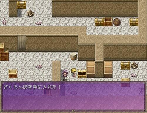 クエスト:さくらんぼの塔 Game Screen Shot3