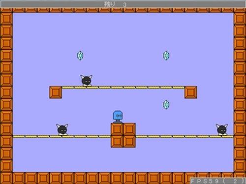 バネくん Game Screen Shot4
